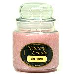 Pink Hibiscus Jar Candles 16 oz
