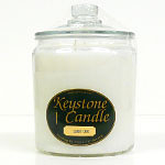Candy Cane Jar Candles 64 oz