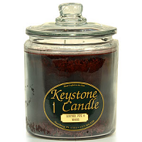Leather, Pipe, and Woods Jar Candles 64 oz
