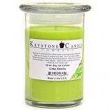 Lime Vanilla Soy Jar Candles 12 oz Madison