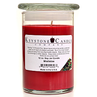Mistletoe Soy Jar Candles 12 oz Madison