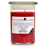 Mistletoe Soy Jar Candles 12 oz Madison