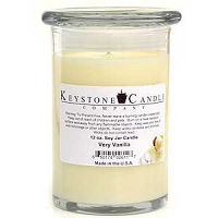 Very Vanilla Soy Jar Candles 12 oz Madison