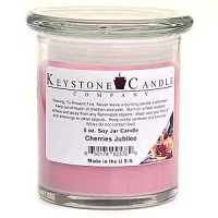 Cherries Jubilee Soy Jar Candles 8 oz Madison