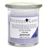 Lavender Soy Jar Candles 8 oz Madison