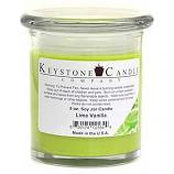 Lime Vanilla Soy Jar Candles 8 oz Madison