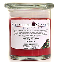 Mistletoe Soy Jar Candles 8 oz Madison