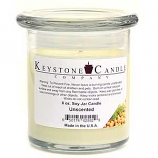 Unscented Soy Jar Candles 8 oz Madison