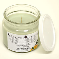 Sage & Citrus Soy Jar Candles 5 oz