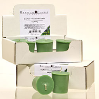 6pk Bayberry Soy Votive Candles
