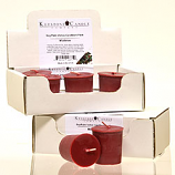 6pk Mistletoe Soy Votive Candles