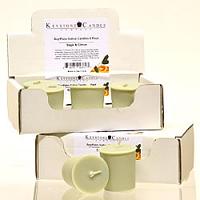 6pk Sage and Citrus Soy Votive Candles