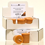 6pk Pumpkin Souffle Soy Votive Candles