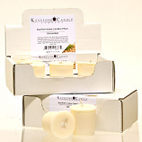 6pk Unscented Soy Votive Candles