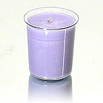 Lavender Soy Votive Candle Insert