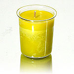 Lime Vanilla Soy Votive Candle Insert