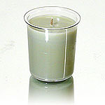 Sage and Citrus Soy Votive Candle Insert