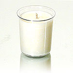 Unscented Soy Votive Candle Insert