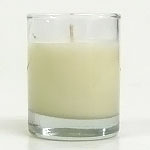 Unscented Soy Votive Candle in Glass