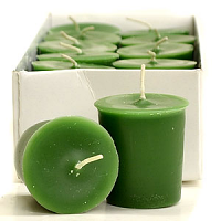 Bayberry Scented Votive Candles