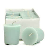 Cool Citrus Basil Scented Votive Candles
