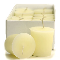 French Vanilla Scented Votive Candles