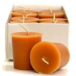 Homemade Pumpkin Roll Scented Votive Candles