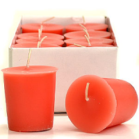 Juicy Peach Scented Votive Candles