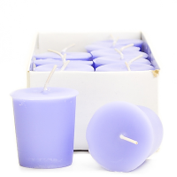 Lemon and Lavender Scented Votive Candles