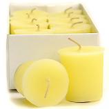 Lemon Meringue Scented Votive Candles