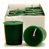 Moss and Mandarin Scented Votive Candles