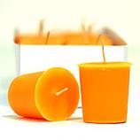 Orange Twist Scented Votive Candles