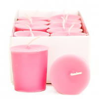 Pink Hibiscus Scented Votive Candles