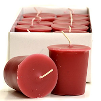 Raspberry Cream Scented Votive Candles