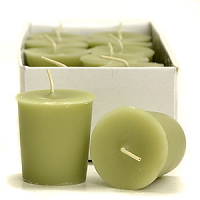 Sage and Citrus Scented Votive Candles