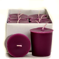 Spiced Plum Scented Votive Candles