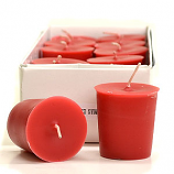 Strawberries and Cream Scented Votive Candles
