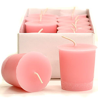 Sweetheart Rose Scented Votive Candles