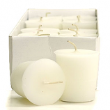 Unscented White Scented Votive Candles