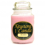 Pink Hibiscus Jar Candles 26 oz