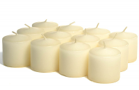 Unscented Ivory Votive Candles 15 Hour