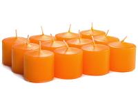 Unscented Mango Votive Candles 15 Hour