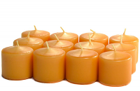 Unscented Harvest Votive Candles 10 Hour