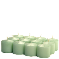 Unscented Mint green Votive Candles 10 Hour