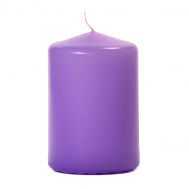 Orchid 3 X 4 Unscented Pillar Candles
