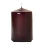 Plum 3 X 4 Unscented Pillar Candles