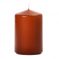 Terracotta 3 X 4 Unscented Pillar Candles