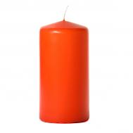 Burnt orange 3 x 6 Unscented Pillar Candles