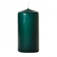 Hunter green 3 x 6 Unscented Pillar Candles
