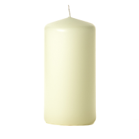 Ivory 3 x 6 Unscented Pillar Candles